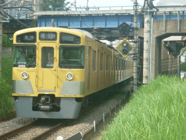 2014-07-23 西武2055F 各停本川越行き 5637レ