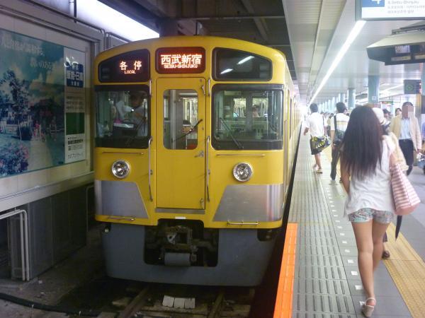 2014-07-23 西武2061F 各停西武新宿行き1 5628レ