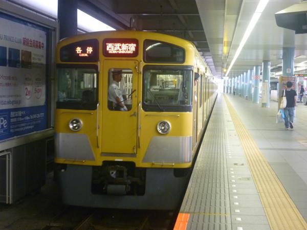 2014-07-23 西武2061F 各停西武新宿行き2 5628レ