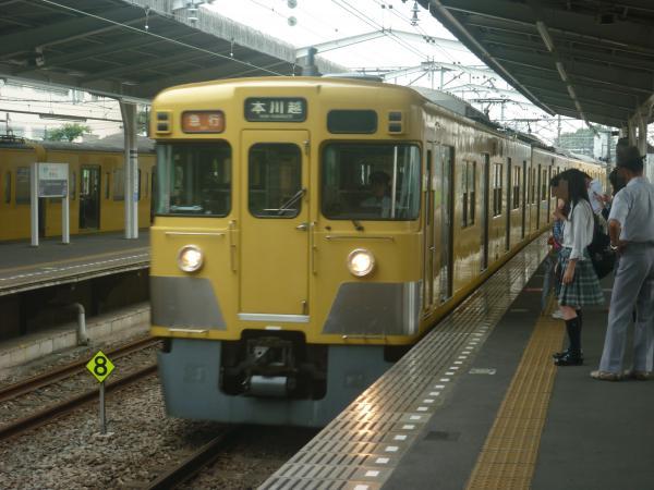 2014-07-23 西武2095F+2403F 急行本川越行き1 2645レ