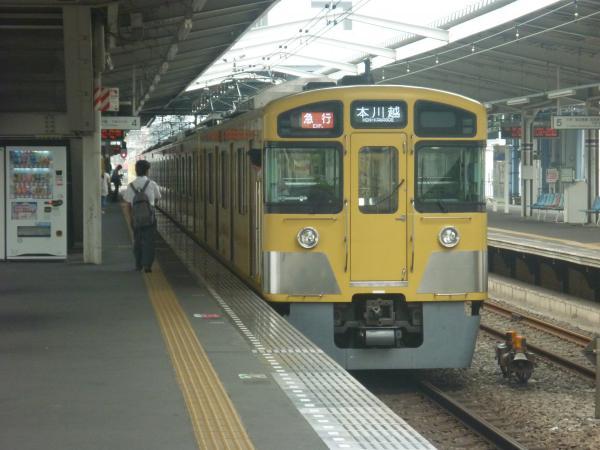 2014-07-23 西武2095F+2403F 急行本川越行き2 2645レ