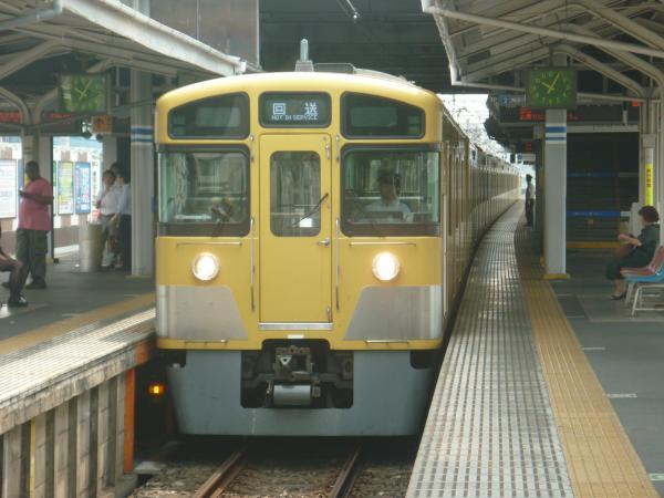 2014-07-23 西武2405F+2059F 回送1
