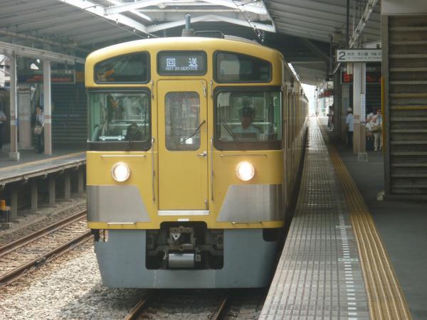 2014-07-23 西武2405F+2059F 回送2