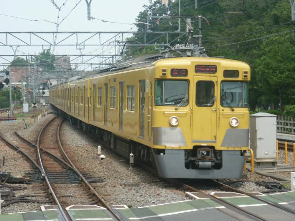 2014-07-23 西武2417F+2081F 急行西武新宿行き 2322レ