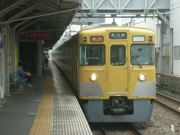 2014-07-23 西武2515F+2029F 急行本川越行き1 2625レ