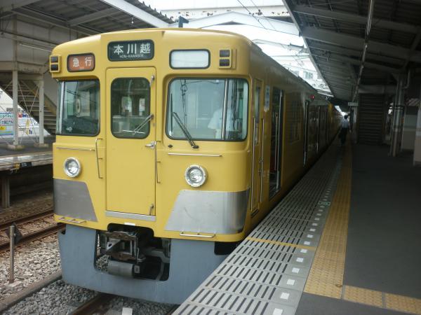 2014-07-23 西武2515F+2029F 急行本川越行き2 2625レ