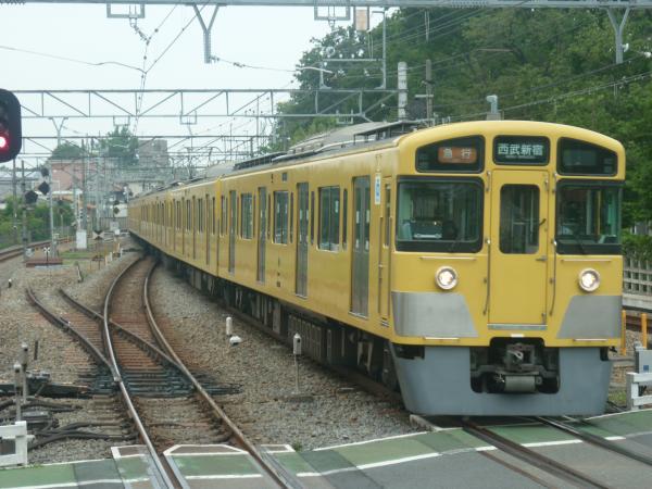 2014-07-23 西武2537F+2021F 急行西武新宿行き 2324レ