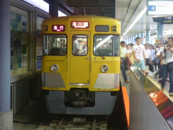 2014-07-23 西武2537F+2021F 急行西武新宿行き 2657レ