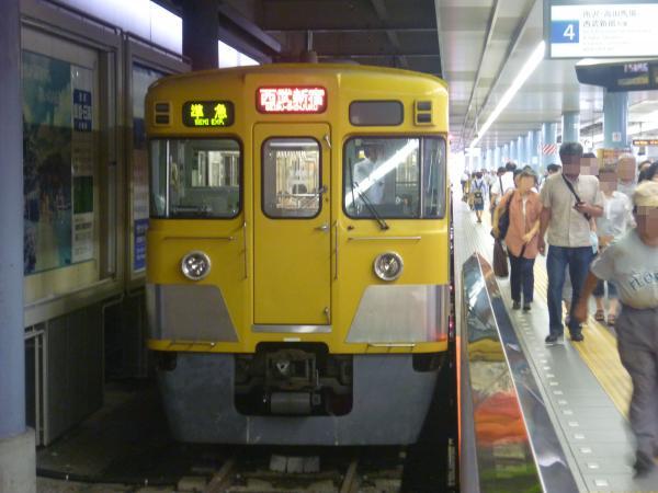 2014-07-23 西武2537F+2021F 準急西武新宿行き 4616レ