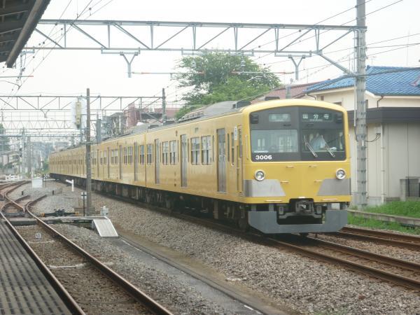 2014-07-23 西武3005F 各停国分寺行き 6692レ