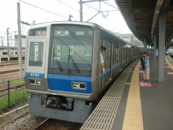 2014-07-23 西武6101F 急行拝島行き 2319レ