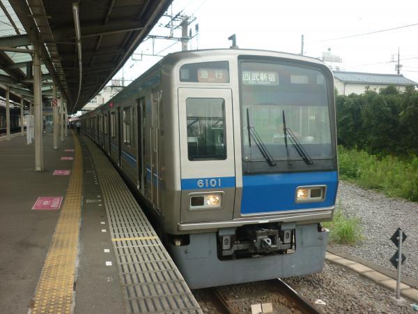 2014-07-23 西武6101F 急行西武新宿行き 2334レ