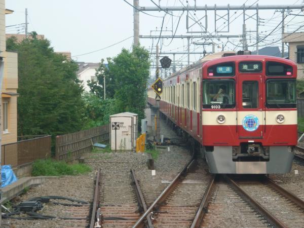 2014-07-23 西武9103F 快速池袋行き2 3118レ