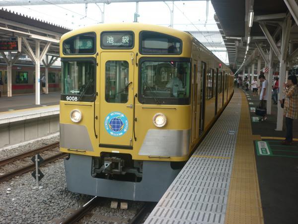 2014-07-23 西武9108F 準急池袋行き1 4218レ