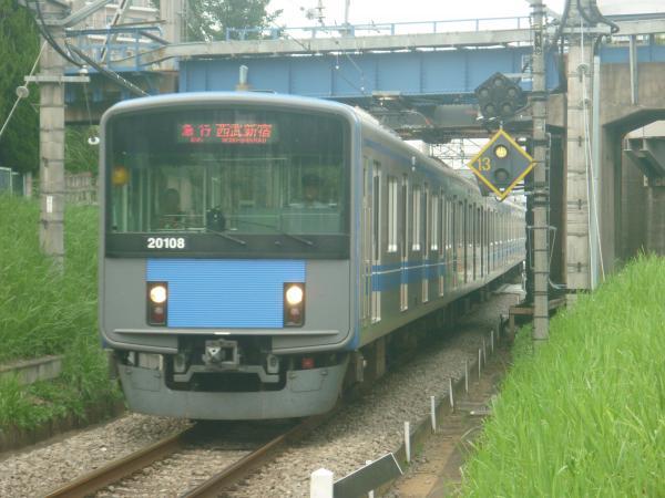 2014-07-23 西武20108F 急行西武新宿行き 2668レ