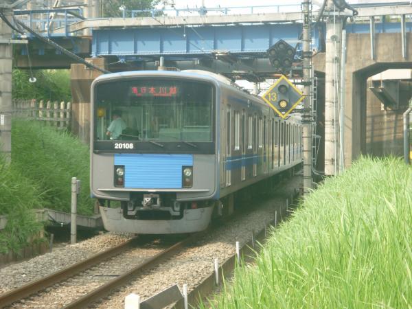 2014-07-23 西武20108F 急行本川越行き 2653レ