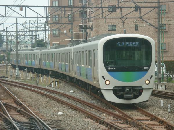2014-07-23 西武38113F 各停西武新宿行き 5624レ