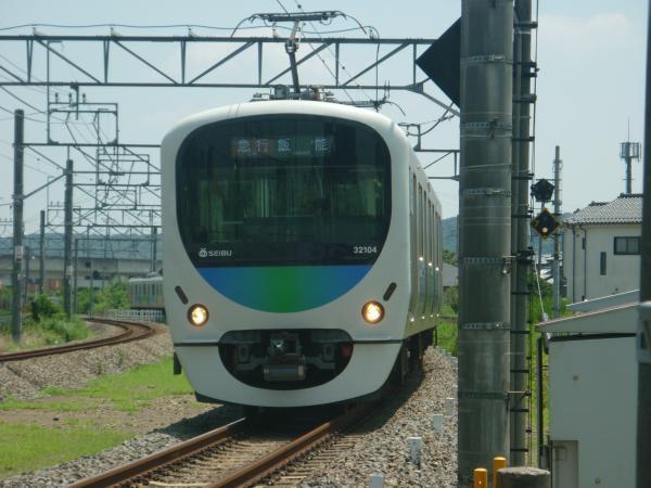 2014-07-25 西武32104F+38112F 急行飯能行き 2129レ