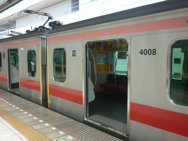 2014-07-25 東急4108F 黄色いテープ