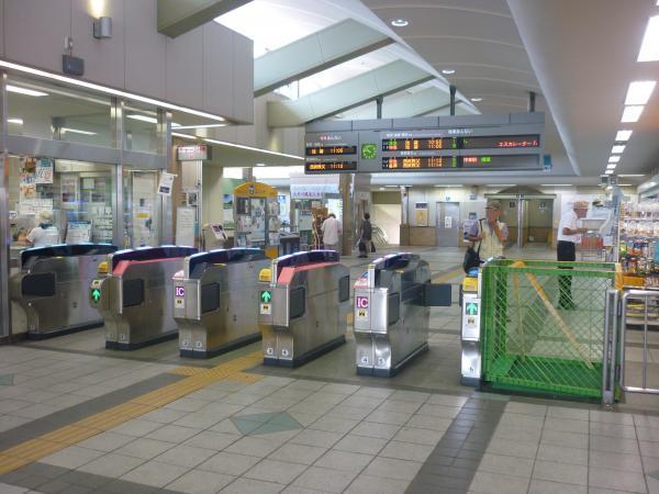 2014-07-25 飯能駅 自動改札機