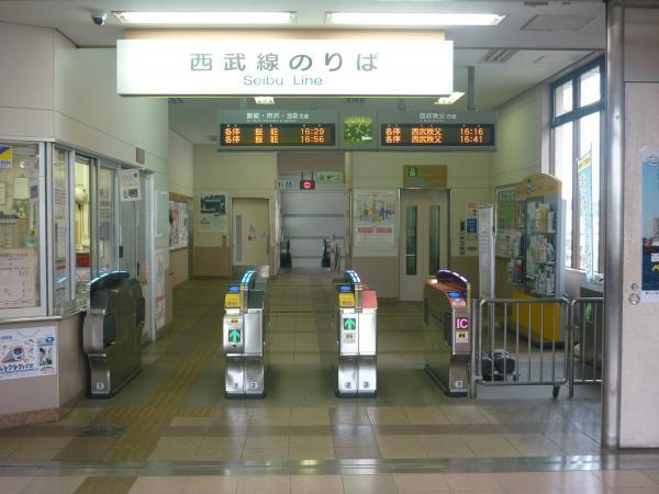 2014-07-25 東飯能駅 自動改札機