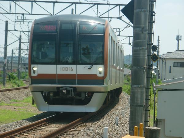 2014-07-25 メトロ10116F 快速急行飯能行き 1701レ