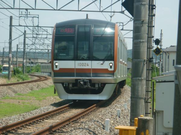 2014-07-25 メトロ10124F 快速急行元町・中華街行き 1703レ