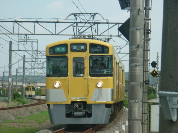 2014-07-25 西武2457F+2075F 準急池袋行き 2143レ