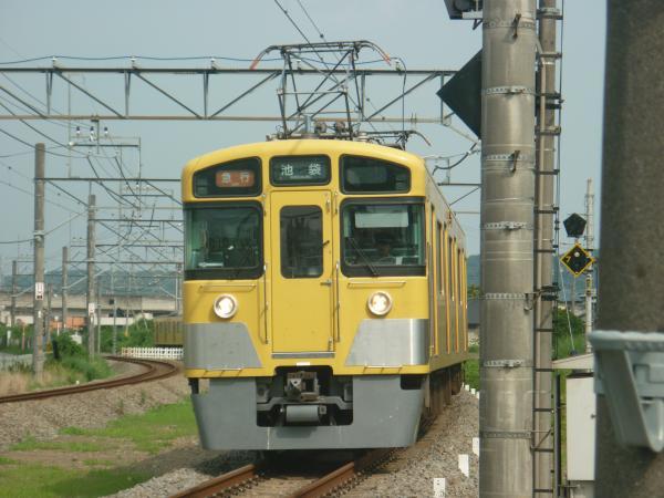 2014-07-25 西武2463F+2091F 急行池袋行き 2151レ