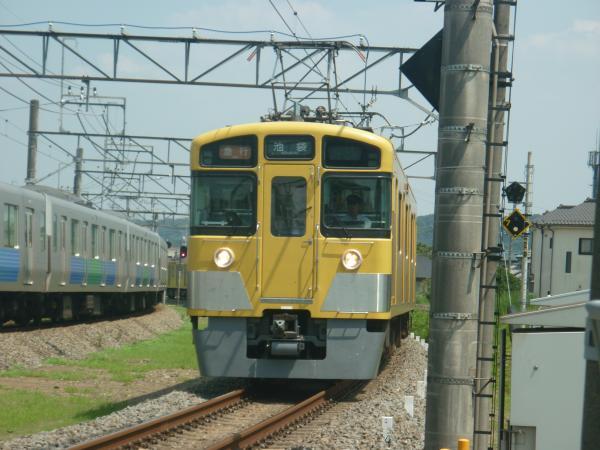 2014-07-25 西武2463F+2091F 急行池袋行き 4131レ