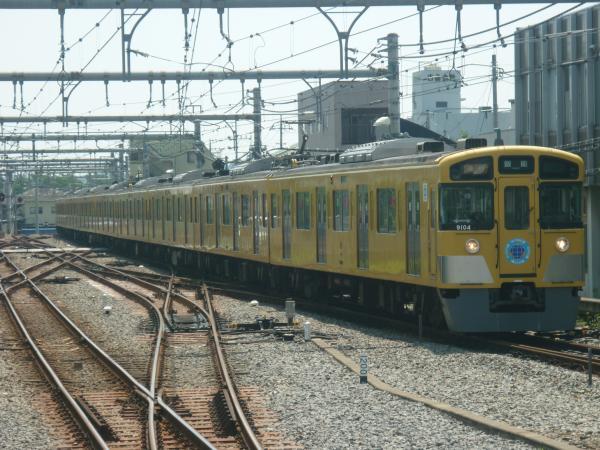 2014-07-25 西武9104F 急行飯能行き 2123レ