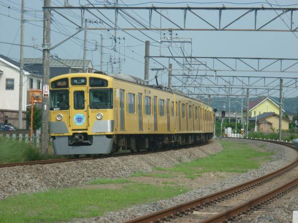 2014-07-25 西武9107F 急行池袋行き 2154レ