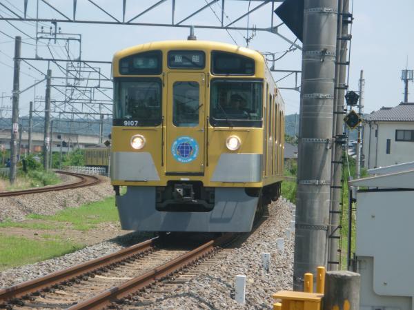 2014-07-25 西武9107F 準急飯能行き 4129レ