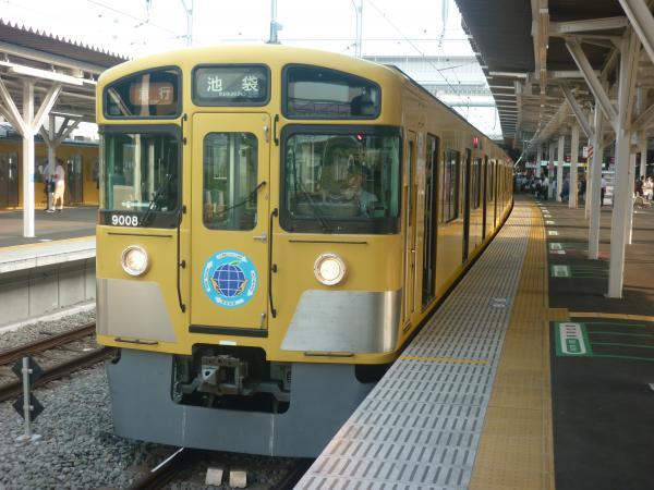 2014-07-25 西武9108F 急行池袋行き1 2164レ