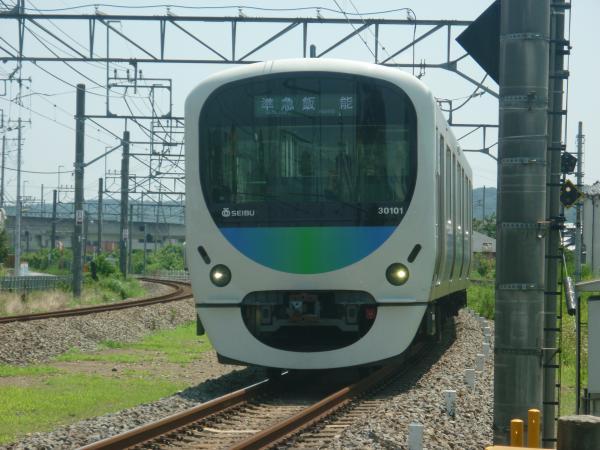 2014-07-25 西武30101F 準急飯能行き 4123レ