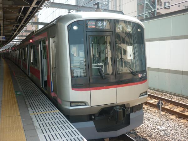 2014-07-25 東急4101F 各停清瀬行き 6705レ