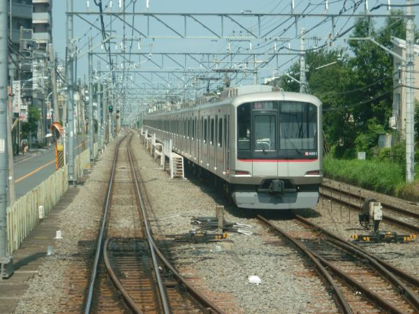 2014-07-25 東急4101F 各停武蔵小杉行き 6706レ