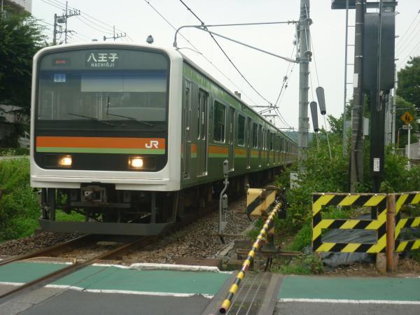 2014-07-25 八高線209系ハエ62編成 八王子行き1