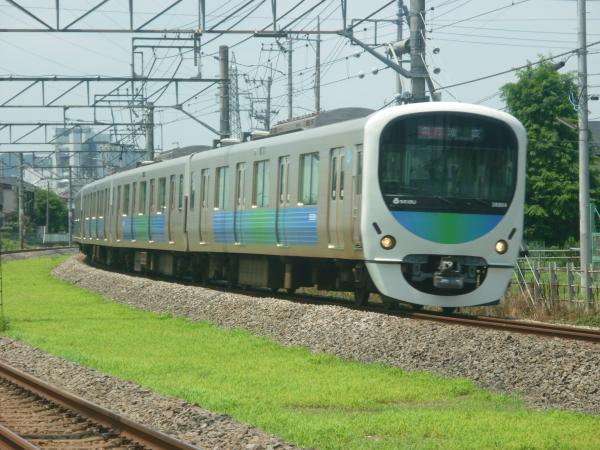 2014-07-25 西武32102F+38104F 急行池袋行き 2140レ