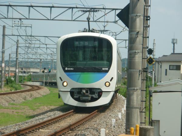 2014-07-25 西武32103F+38105F 準急飯能行き 4133レ