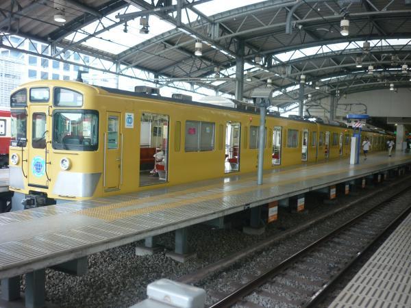 2014-07-27 西武9108F 急行飯能行き 2137レ