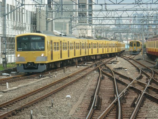 2014-07-27 西武3009F 各停西武球場前行き 5474レ