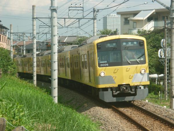 2014-07-28 西武3005F 各停国分寺行き 6257レ