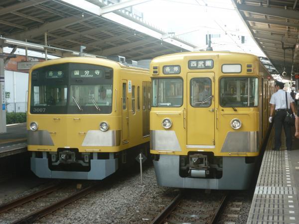 2014-07-28 西武3007F 2011F 2