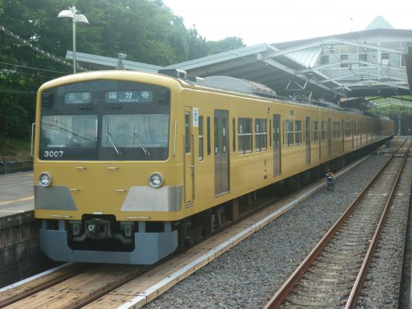 2014-07-28 西武3007F 各停国分寺行き 6260レ
