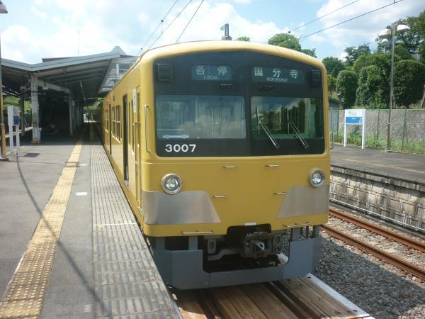 2014-07-28 西武3007F 各停国分寺行き1-2 6252レ