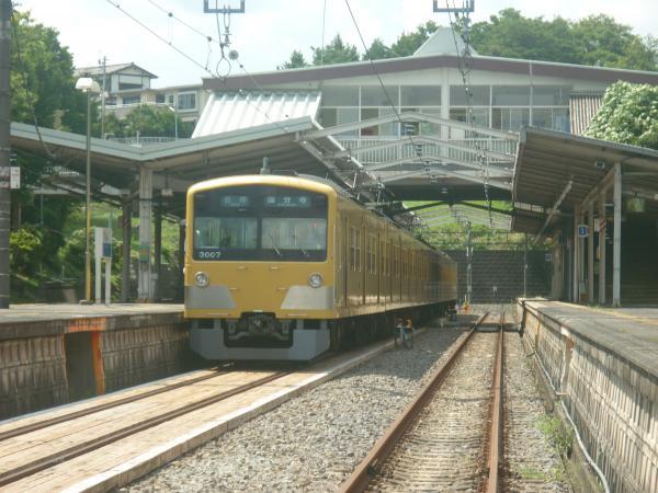 2014-07-28 西武3007F 各停国分寺行き1-3 6252レ
