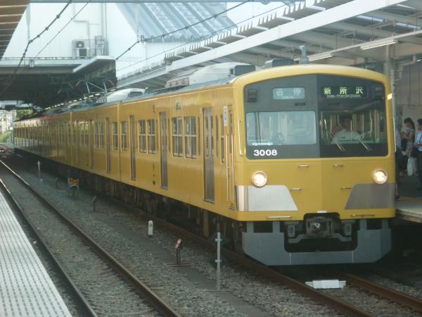 2014-07-28 西武3007F 各停新所沢行き 5773レ