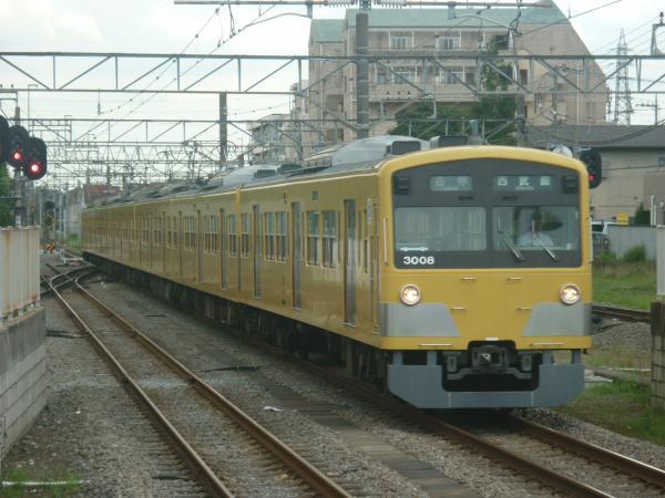 2014-07-28 西武3007F 各停西武園行き 6671レ
