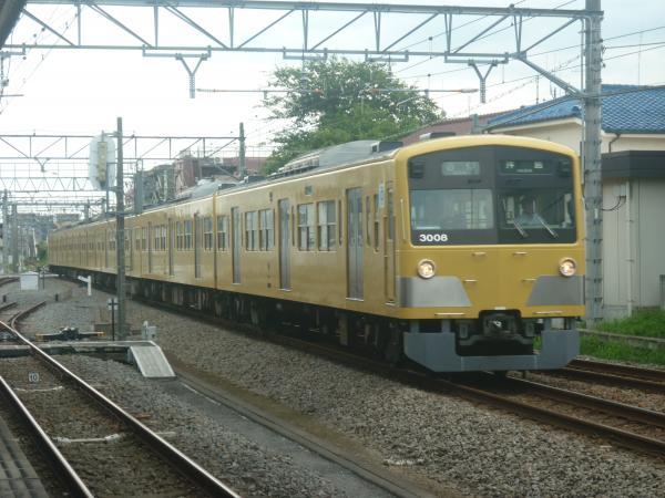 2014-07-28 西武3007F 方向幕回転中 6679レ